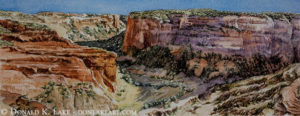 Canyon De Chelly, Near Massacre Cave