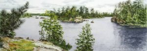 Island Channel Boundary Waters Minnesota