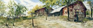 Kansas Horse Barn