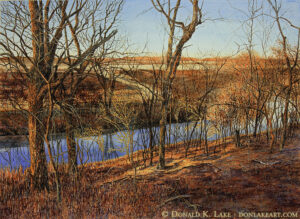 Late Afternoon, Winte,r Fall River